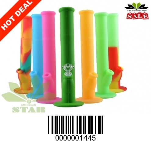 Silicone straight Water pipe-JK-1445