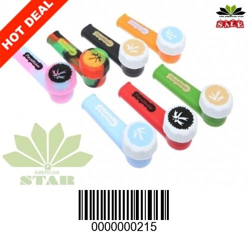 Silicone hand pipe JK-215