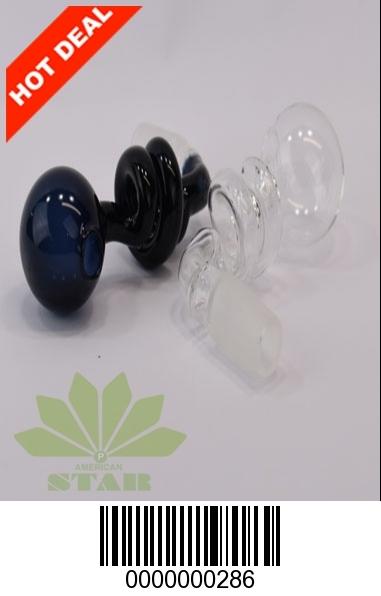 Twisted glass oil burner- JK-286