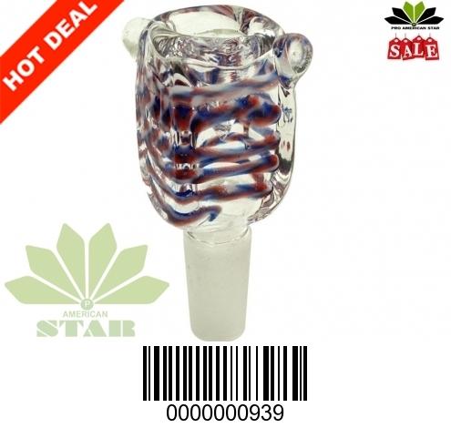 Square Borosilicate Smoking Glass-VJ-939