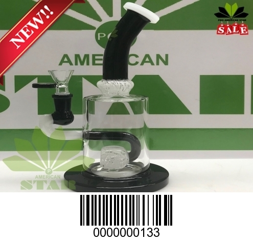 Ice Berg  perc  wormhole recycler, Oil rig JK-133( Black and white)