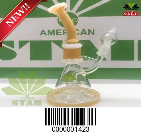 Eight  inches micro twisted oil rig-BL-1423