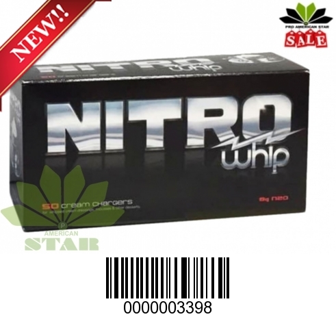 Nitro Whip 500 counts Whipped Cream Chargers-MS-3398