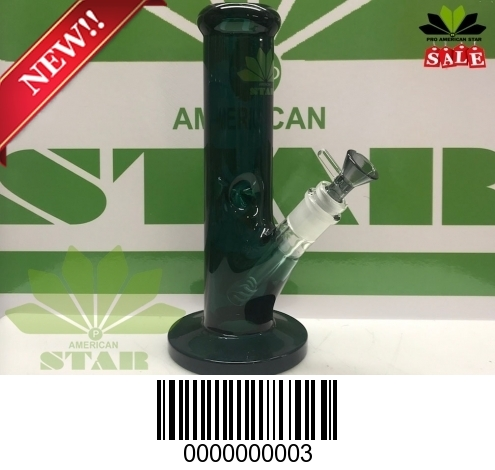9mm dark green Straight Tube Heavy Hitter-JA-003
