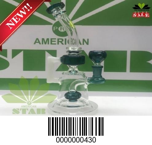 Green Mini flares mouthpiece banger hanger-JK-430