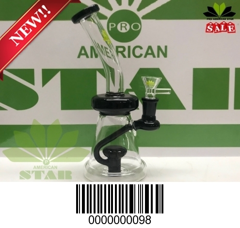 6 inches twisted Micro Oil ring Lake Green
