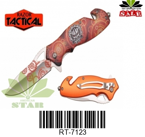 Spring Assist Tactical knife-J-7123