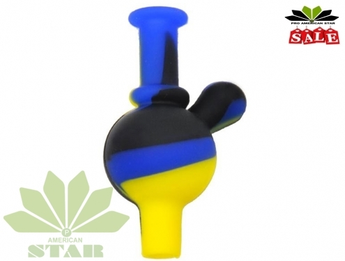 Directional Air Flow Silicone Carb Cap with handle-JK-1472