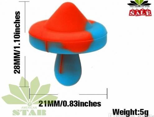 Hat Shape Colorful Silicone Carb Cap-Jk-1473